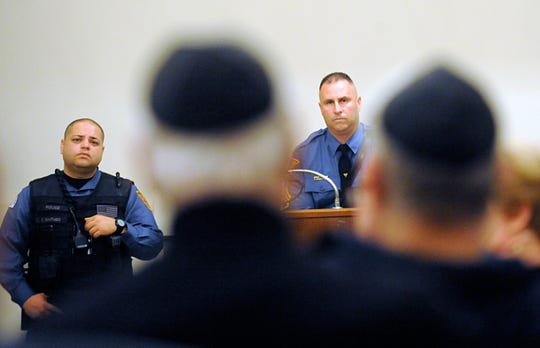A vigil was held at Beth Israel Congregation in Vineland to commemorate the 11 people killed at a Pittsburgh synagogue. A workshop, featuring law enforcement, followed the event to discuss security planning and safety tips.