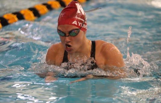 Lauren Aylmer Section 1 Girls Swimming