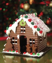 Chocolate house from Jacques Torres Chocolate makes for a great holiday gift.