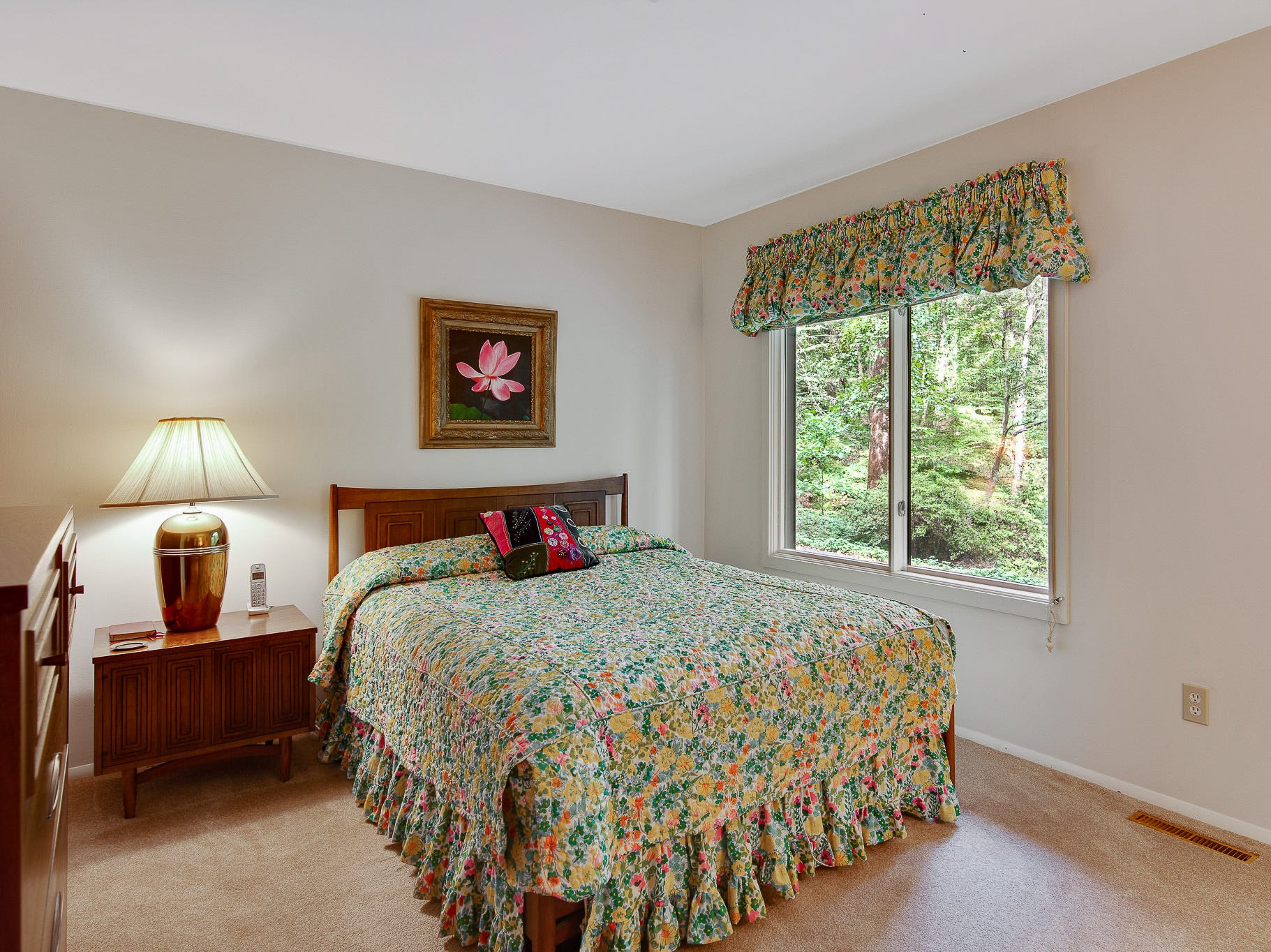 The house at 110 Thissell in Greenville has four bedrooms, all with great views of the outdoors.