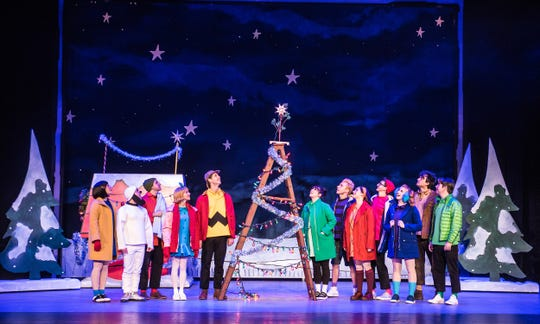 """A Charlie Brown Christmas"" plays at The Grand Opera House for two shows on Dec. 8.."
