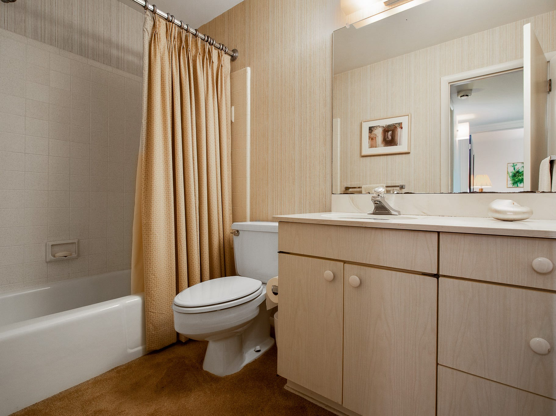 The house at 110 Thissell in Greenville has three bathrooms.