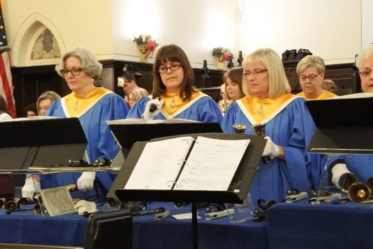 Zanesville Handbell Festival at 7 p.m. Nov. 18 at Grace United Methodist Church.