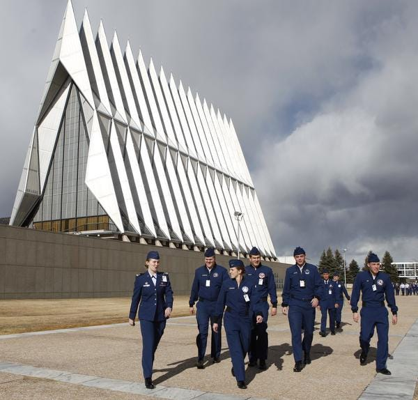 Air Force kept seniors on campus: 2 committed suicide