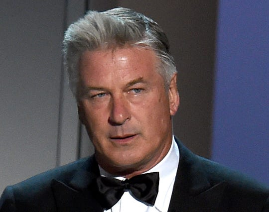 Alec Baldwin on Sept. 17, 2018, at the 70th Primetime Emmy Awards in Los Angeles.