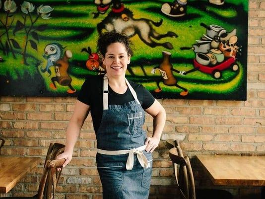 Stephanie Izard talks girls in kitchens & goats.