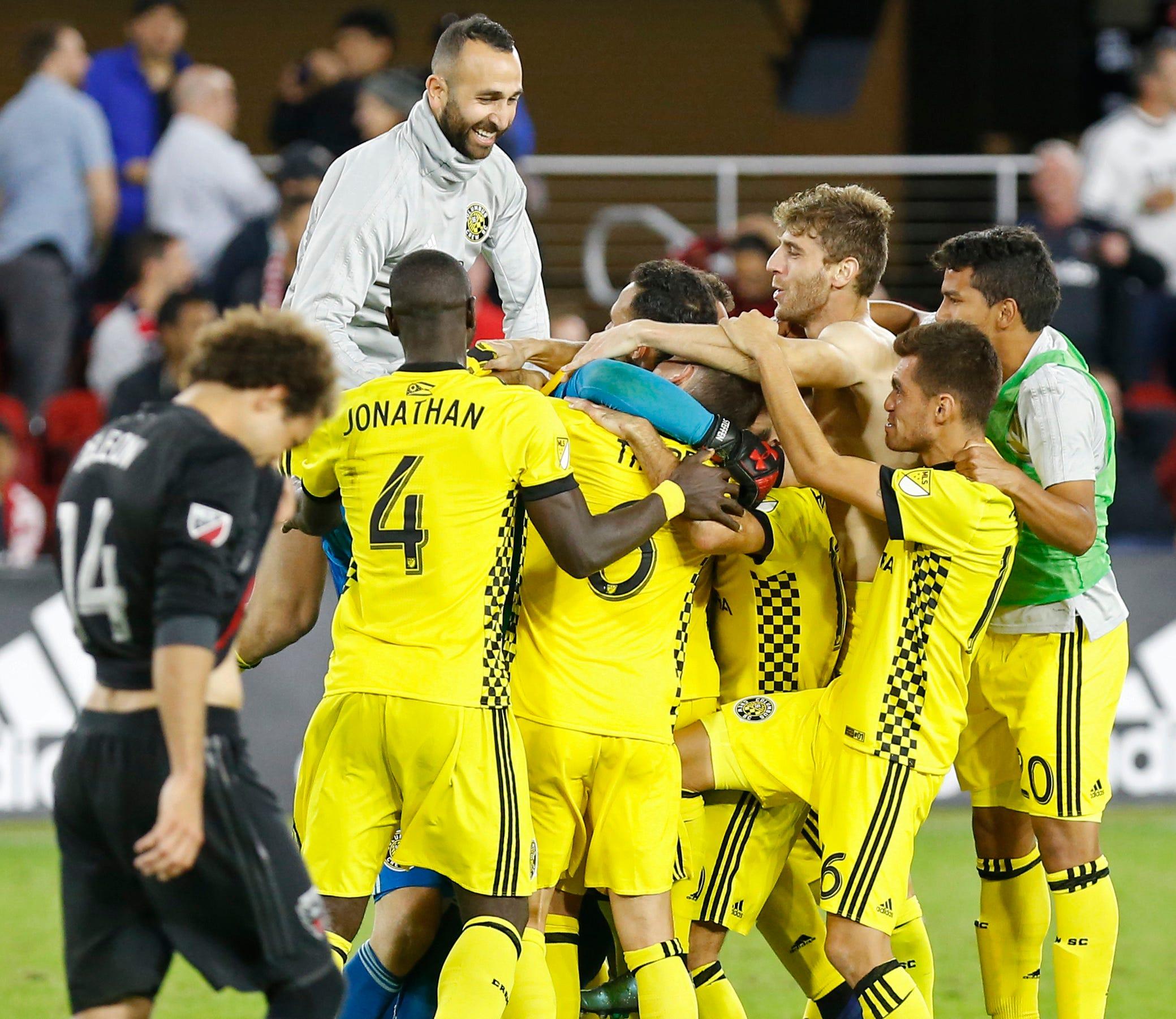 Mls Knockout Round Columbus Crew Sc At D C United