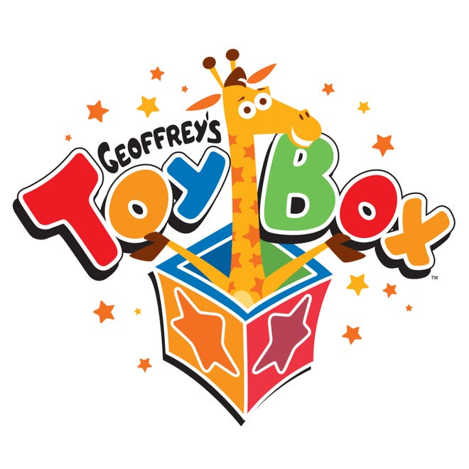 Geoffrey's Toy Box will make its debut this holiday season at Kroger-owned grocery stores