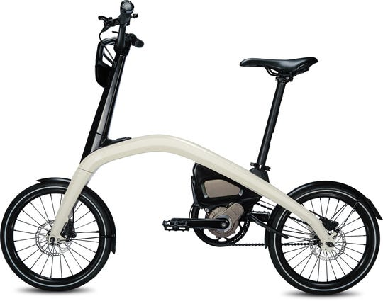 General Motors designed this compact electric bicycle especially for urban commuters. It will arrive in 2019.