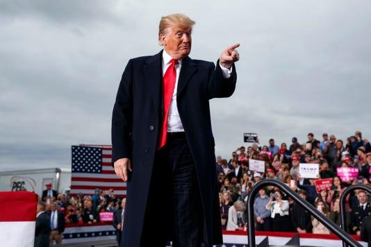 Ap Election 2018 Trump A Eln Usa Wv