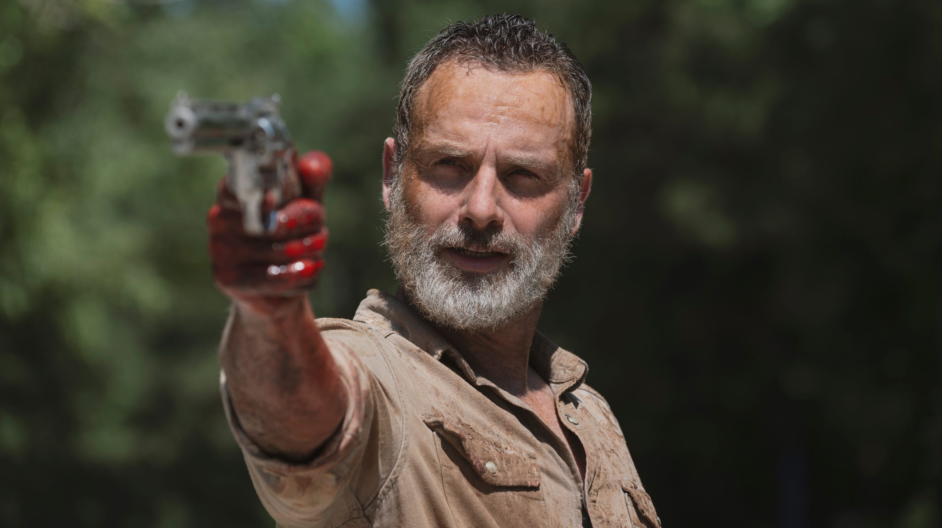 Rick Grimes makes final stand on AMC The Walking Dead