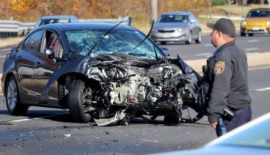 Brick Boulevard Crash