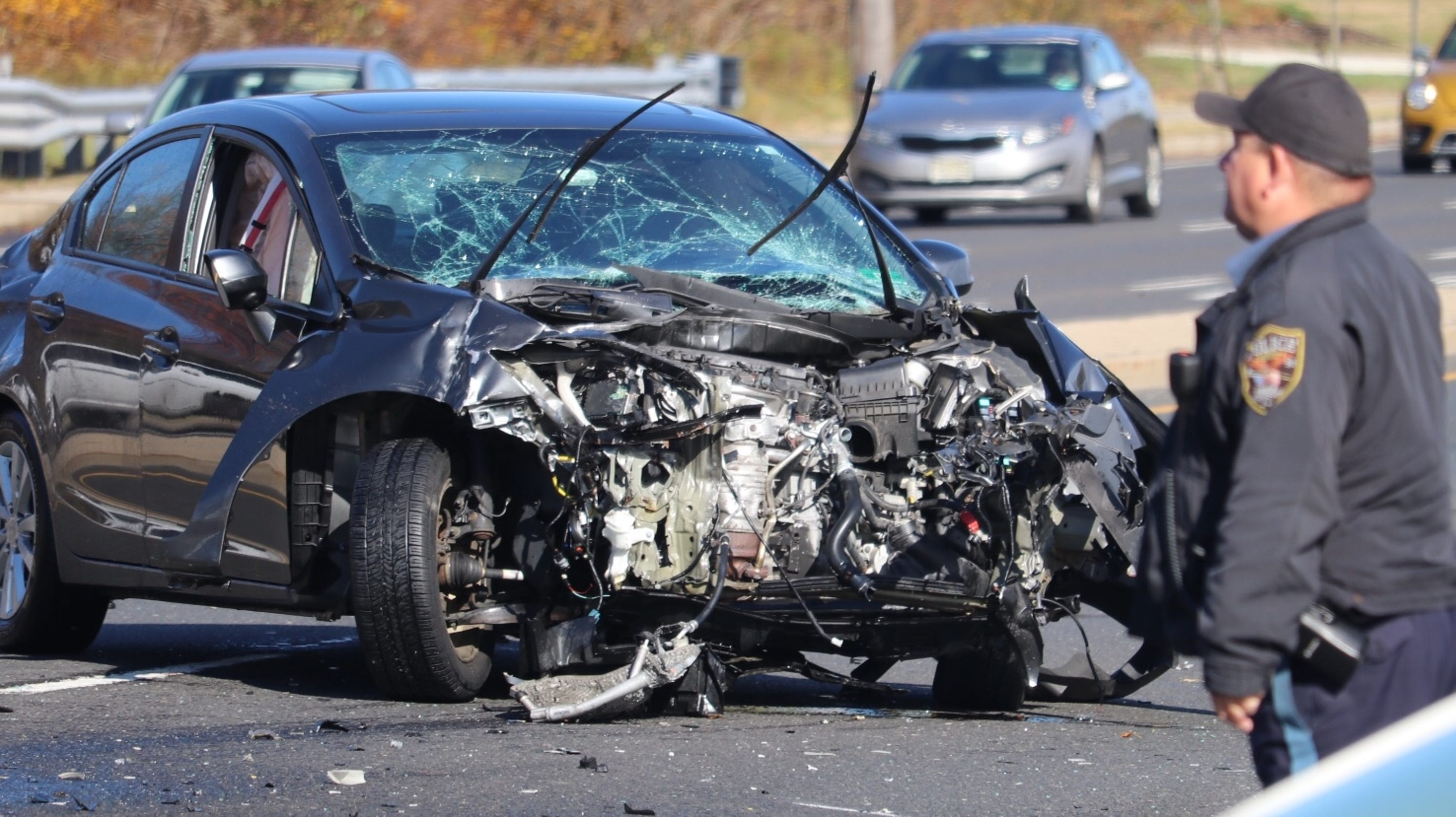 Car Wrecks: Road Closed, One Hospitalized After Car Crash In Brick