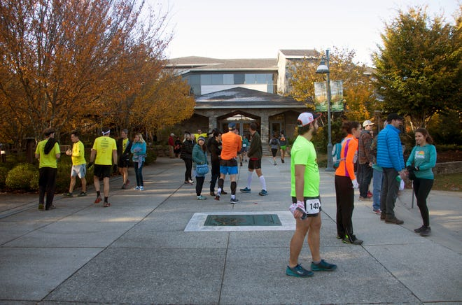 Runners gather at the N.C. Arboretum in this 2018 file photo. The Arboretum announced this week it will close until the COVID-19 crisis passes.