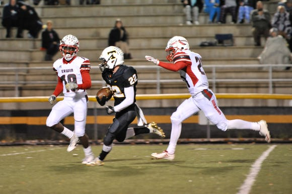 Scenes from Erwin's 43-0 win over Tuscola on Nov. 2, 2018.