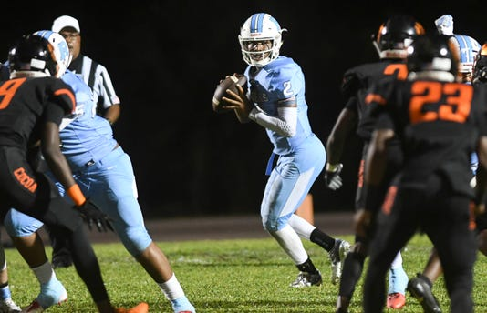 High School Football Rockledge At Cocoa