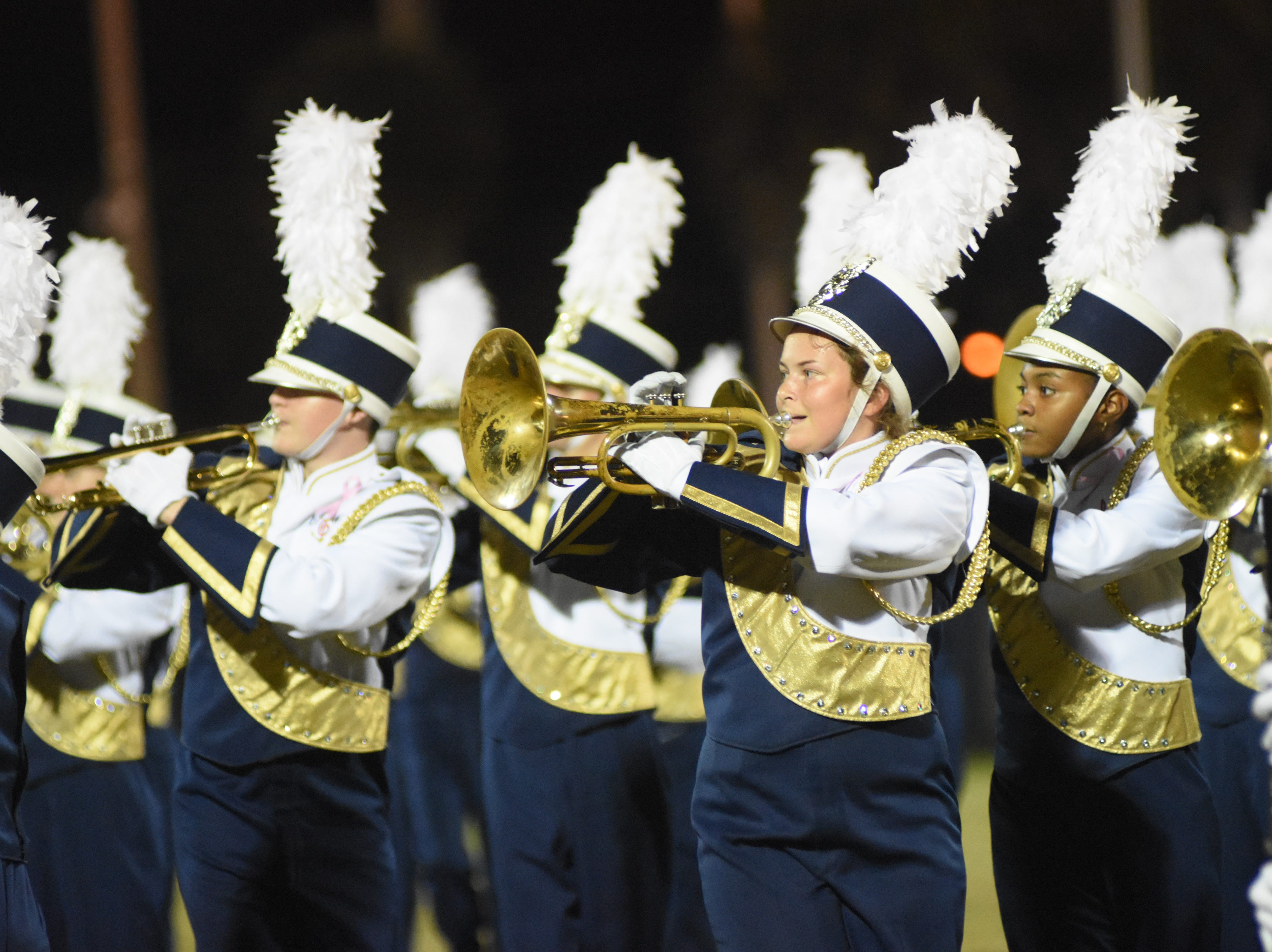 The Eau Gallie Marching Band performs their final show of the 2018 season.