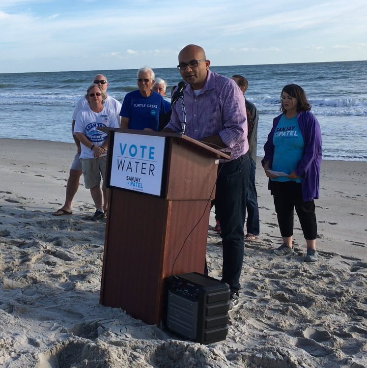 Sanjay Patel vows to clean up Florida's waters