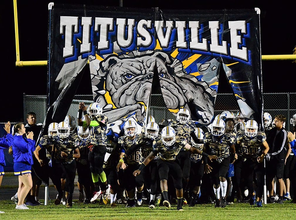 The Titusville Terriers had home field advantage in this years rivalry game against Astronaut High School Friday night.