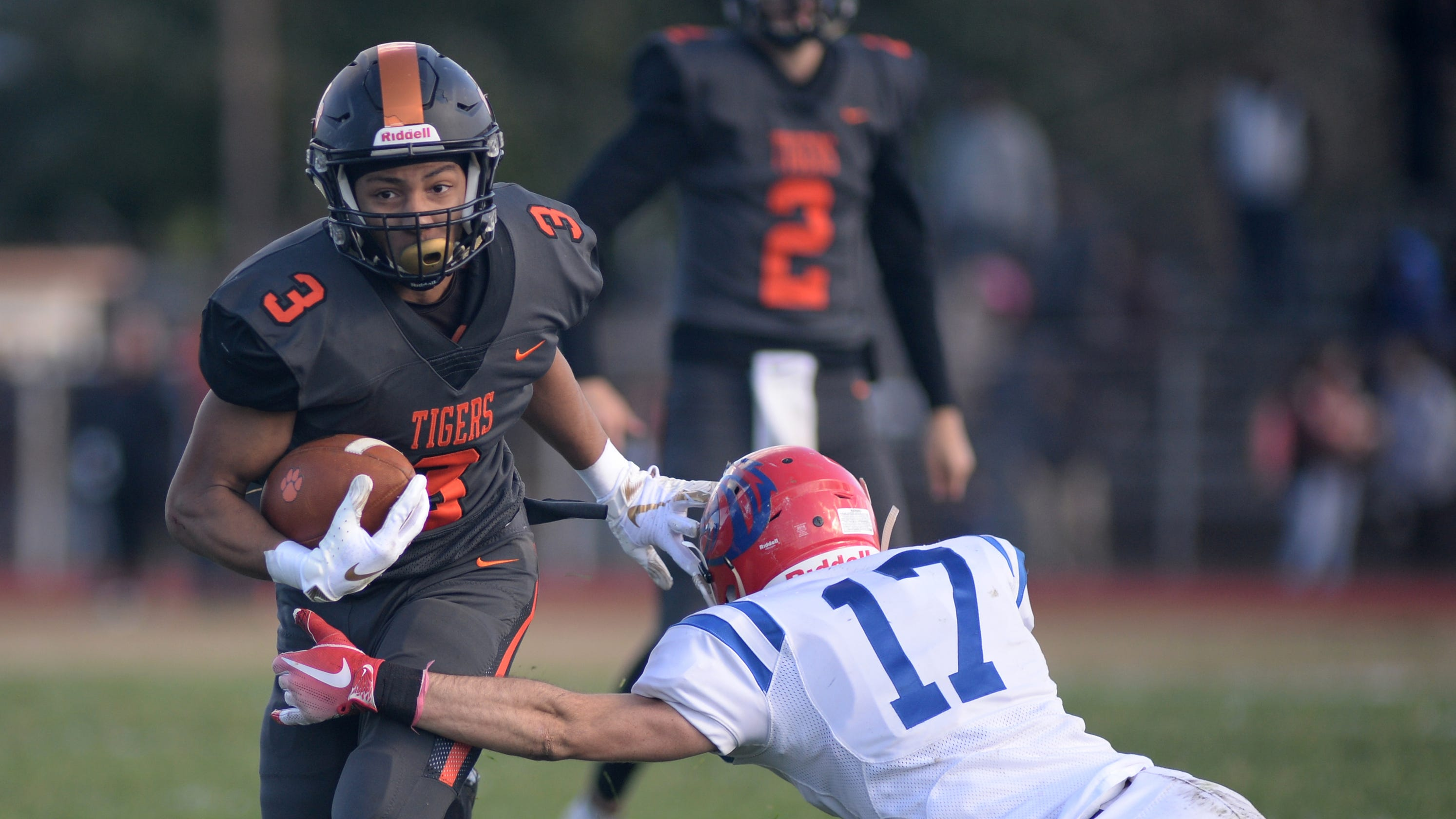 South Jersey Football  Wilson slams Triton to set up another date with  Delsea c65d9db0c