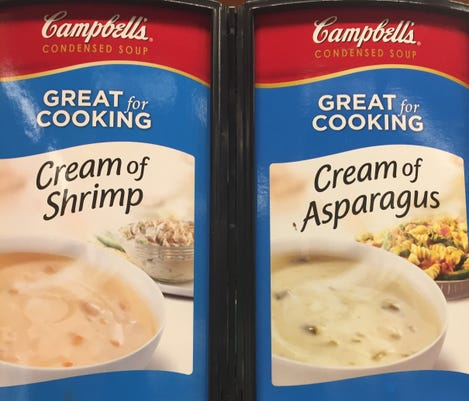 Campbell cream soups