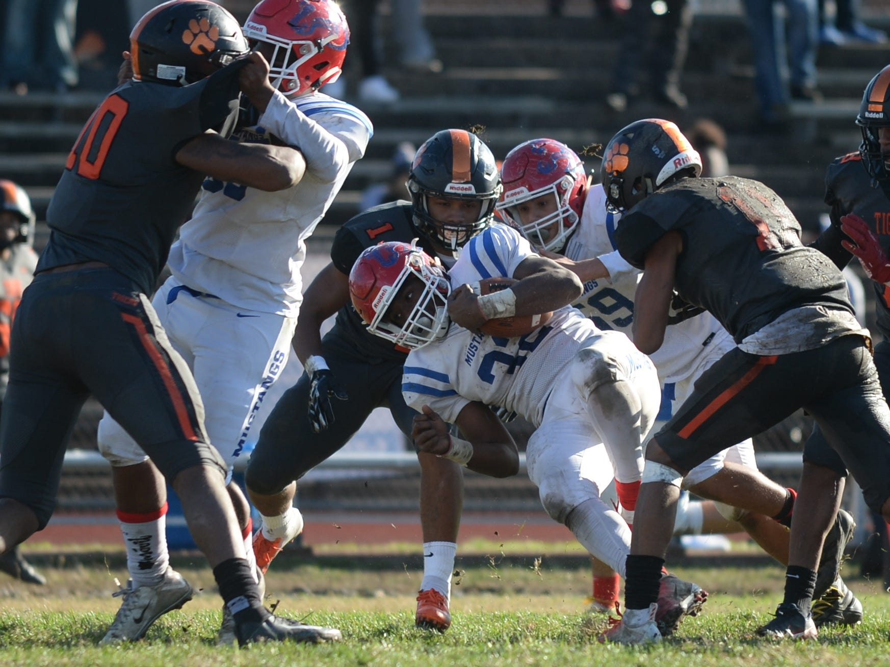 Triton vs. Woodrow Wilson football, South Jersey Group 3 first round, Saturday, Nov. 3, 2018.