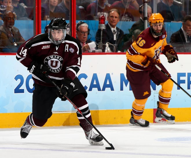 Flyers defenseman Shayne Gostisbehere opted to go the college route and it's helped him become one of the NHL's most exciting defensemen.