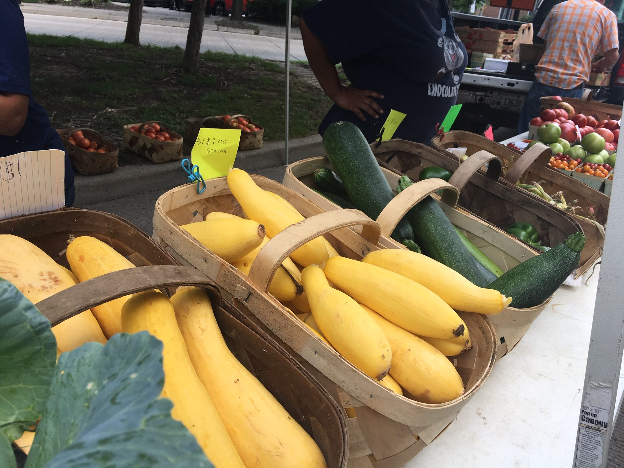 Starting Nov. 3, Covington Farmers Market moves indoors featuring  seasonal produce, meats, eggs, honey, baked goods, prepared foods, natural beauty products, dog treats and more.