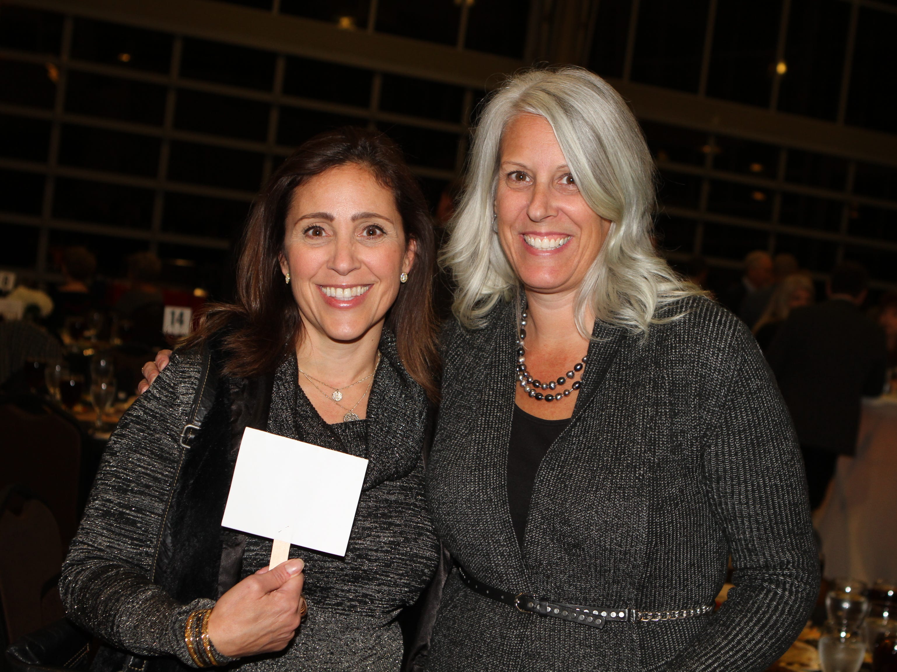 Michelle Newell and Yvonne Chamberlain at CMC Education Foundation's annual fundraiser Vision to Reality on Friday, November 2, 2018