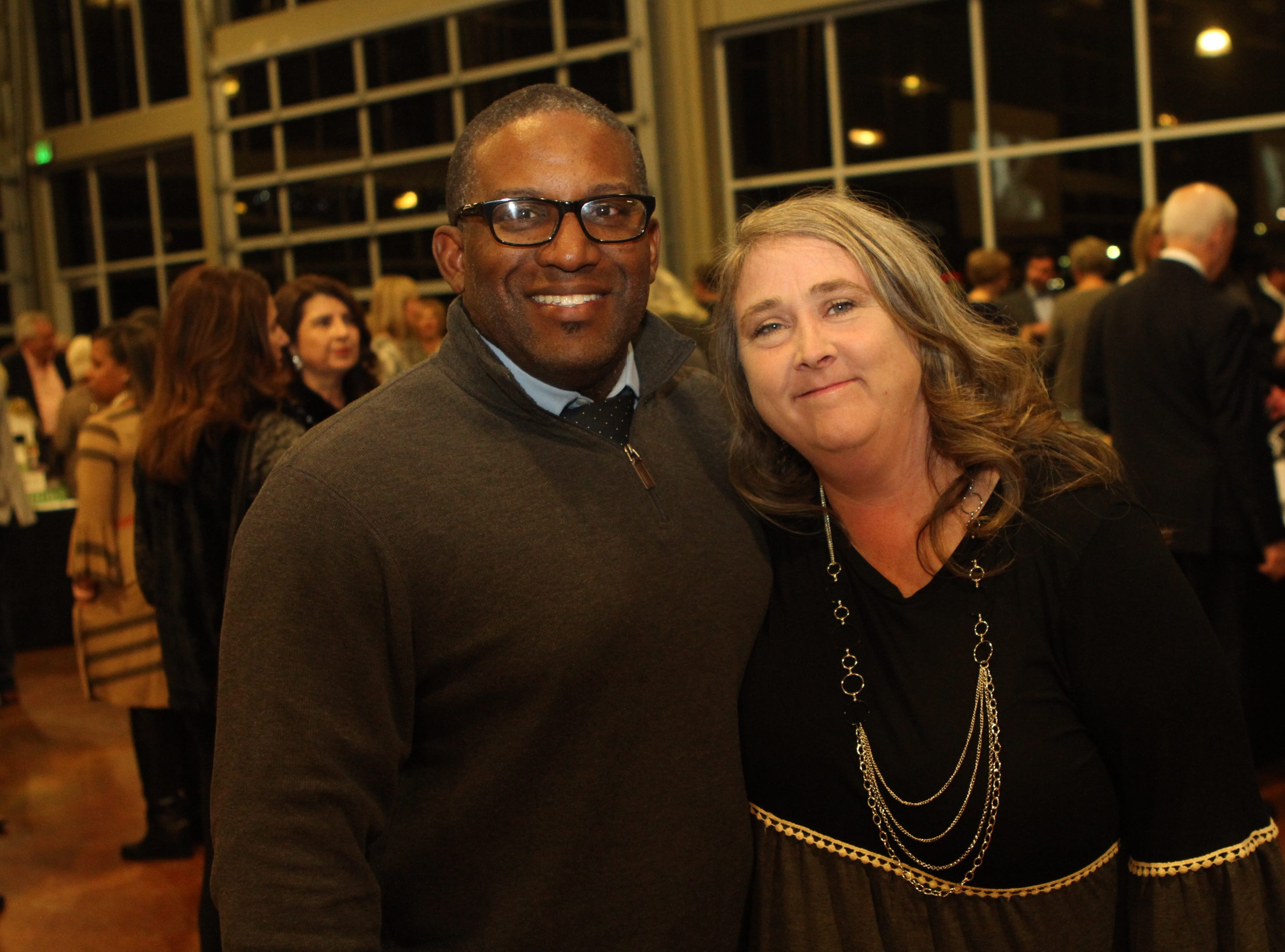 Deanta and Sarah Mcafee at CMC Education Foundation's annual fundraiser Vision to Reality on Friday, November 2, 2018
