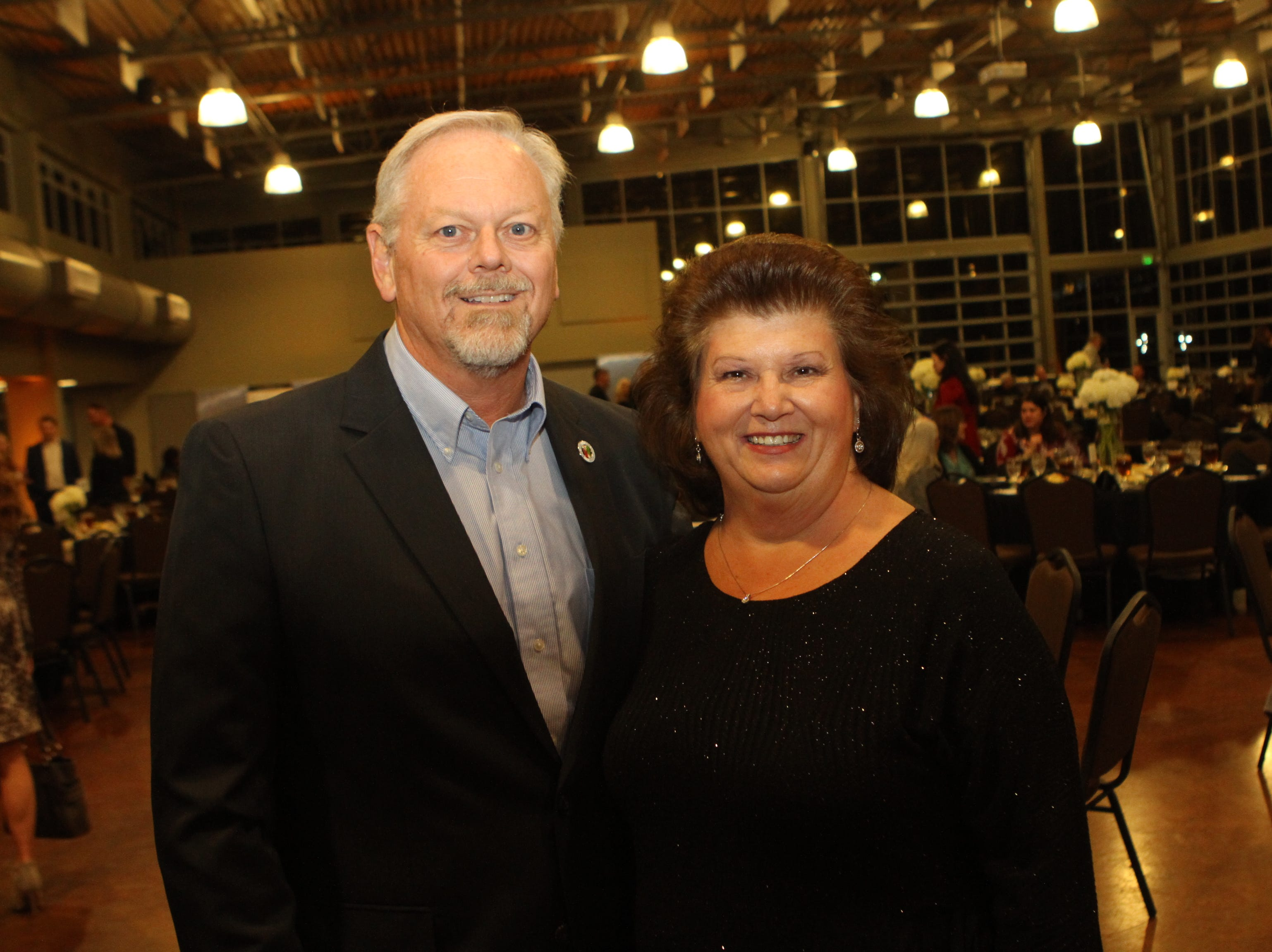 Brian and Kim Taylor at CMC Education Foundation's annual fundraiser Vision to Reality on Friday, November 2, 2018