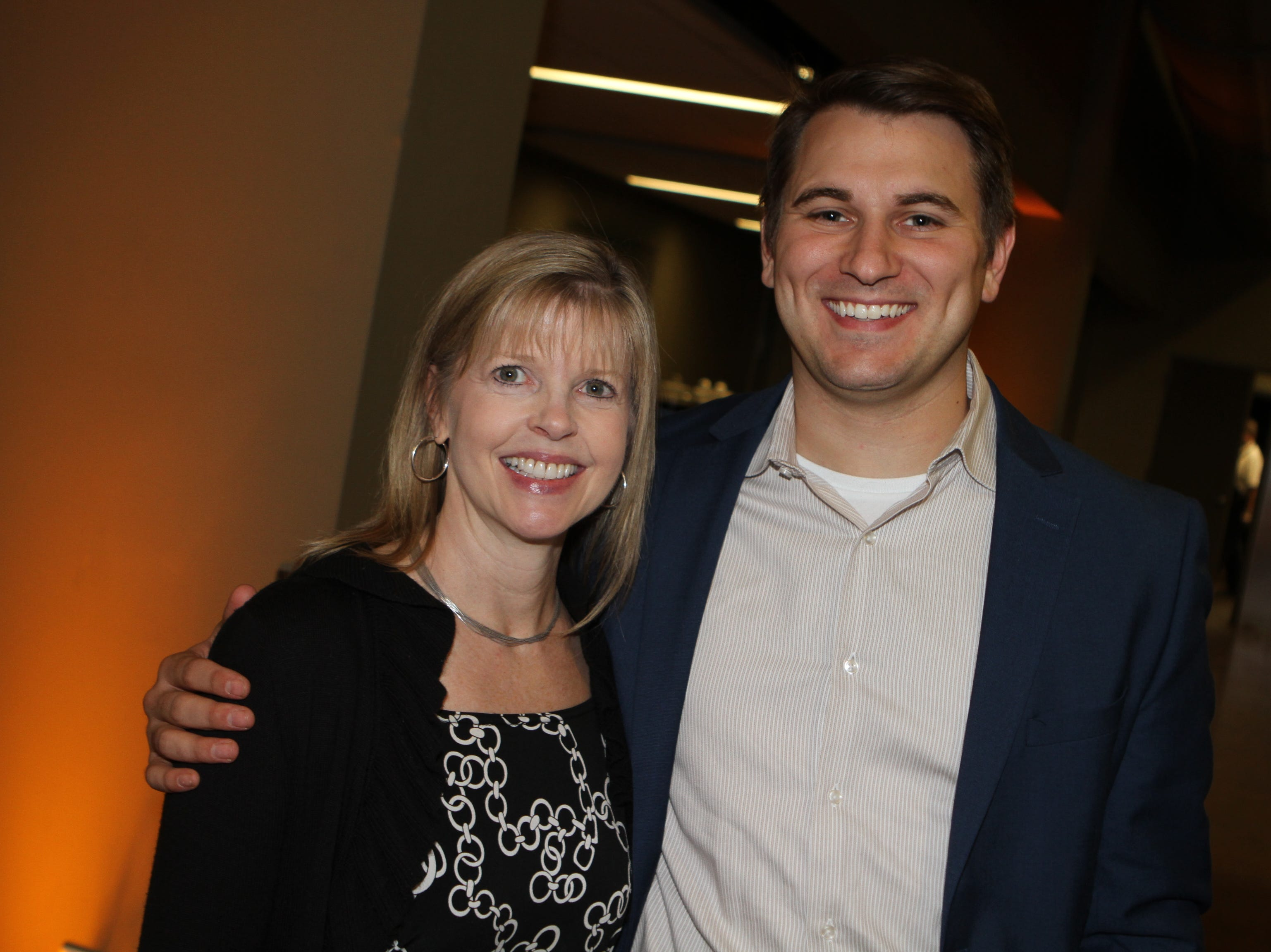 Camille Thomas and Matt Rosenfelder at CMC Education Foundation's annual fundraiser Vision to Reality on Friday, November 2, 2018