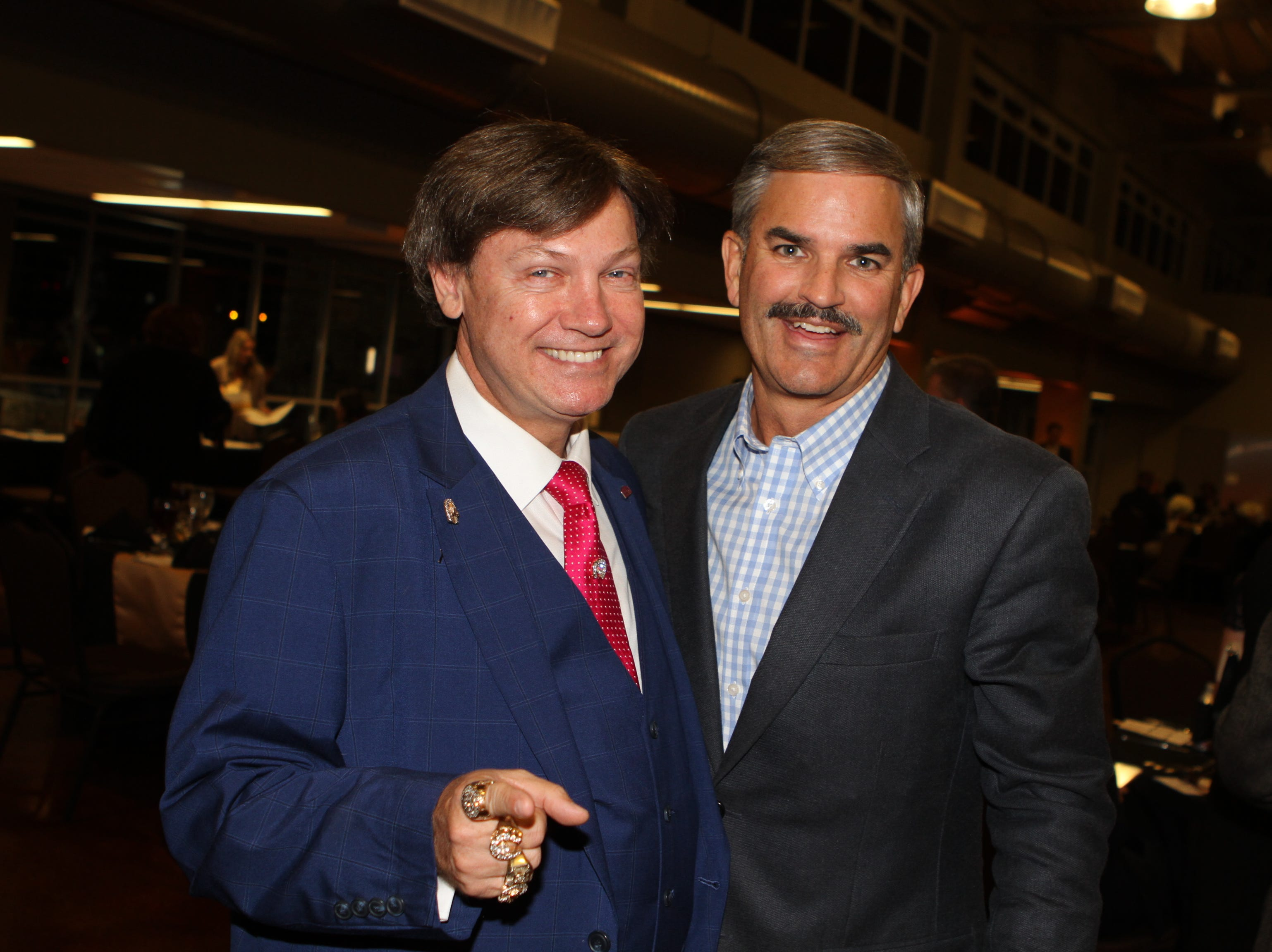 Kevin Kennedy and Charlie Koon at CMC Education Foundation's annual fundraiser Vision to Reality on Friday, November 2, 2018