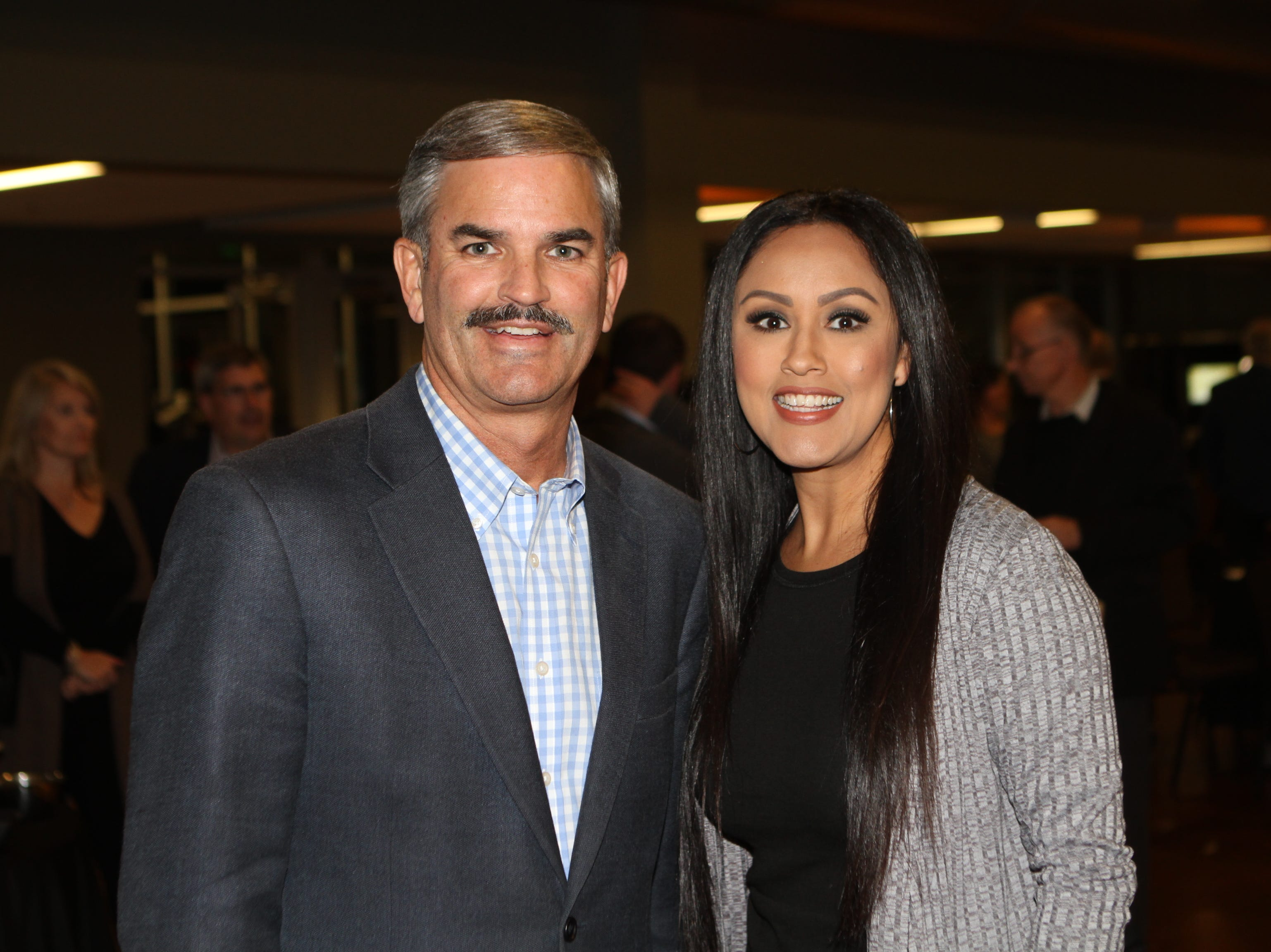 Charlie Koon and Lillie Millan at CMC Education Foundation's annual fundraiser Vision to Reality on Friday, November 2, 2018