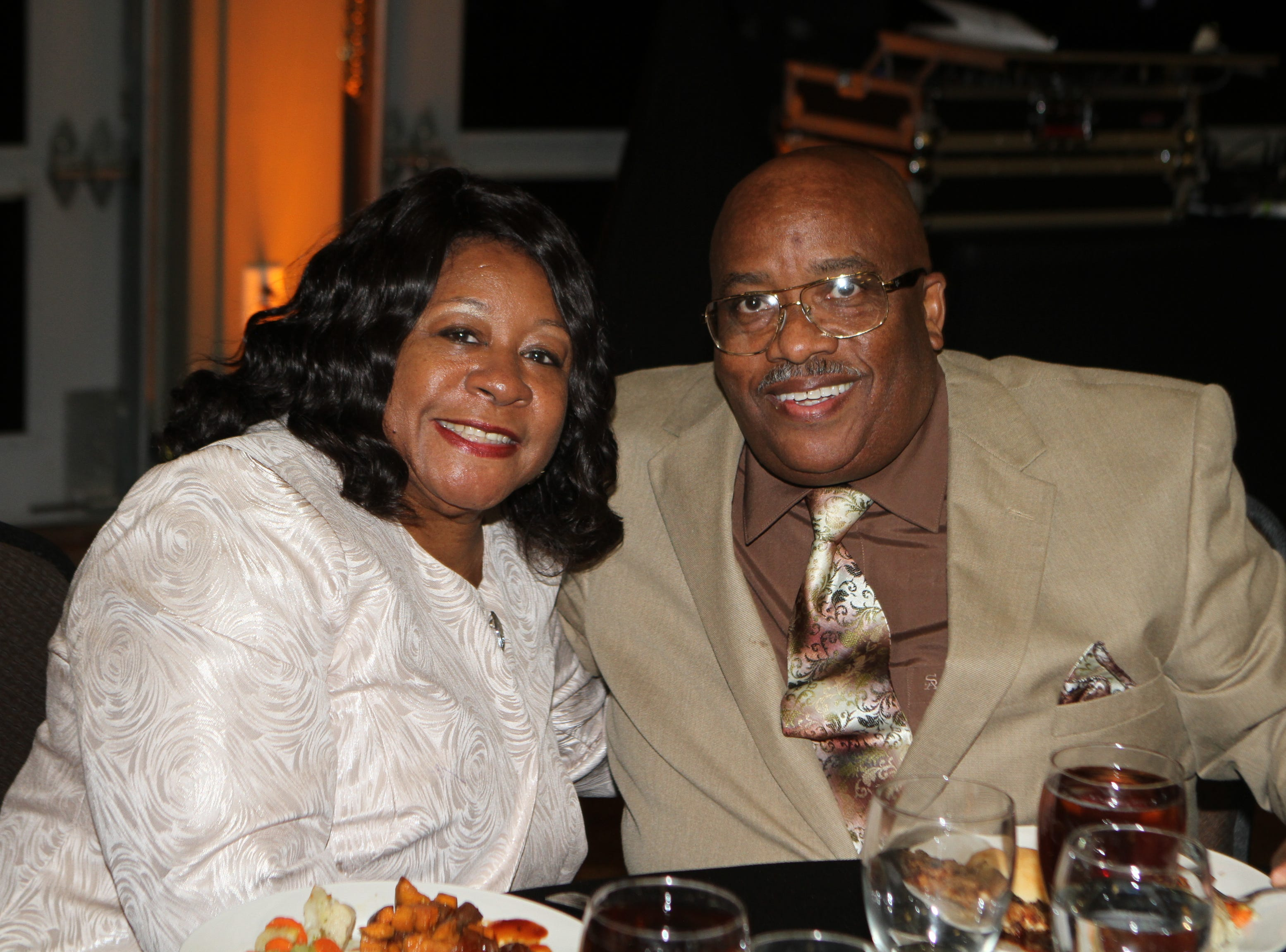 Carol and Ronnie Berry at CMC Education Foundation's annual fundraiser Vision to Reality on Friday, November 2, 2018
