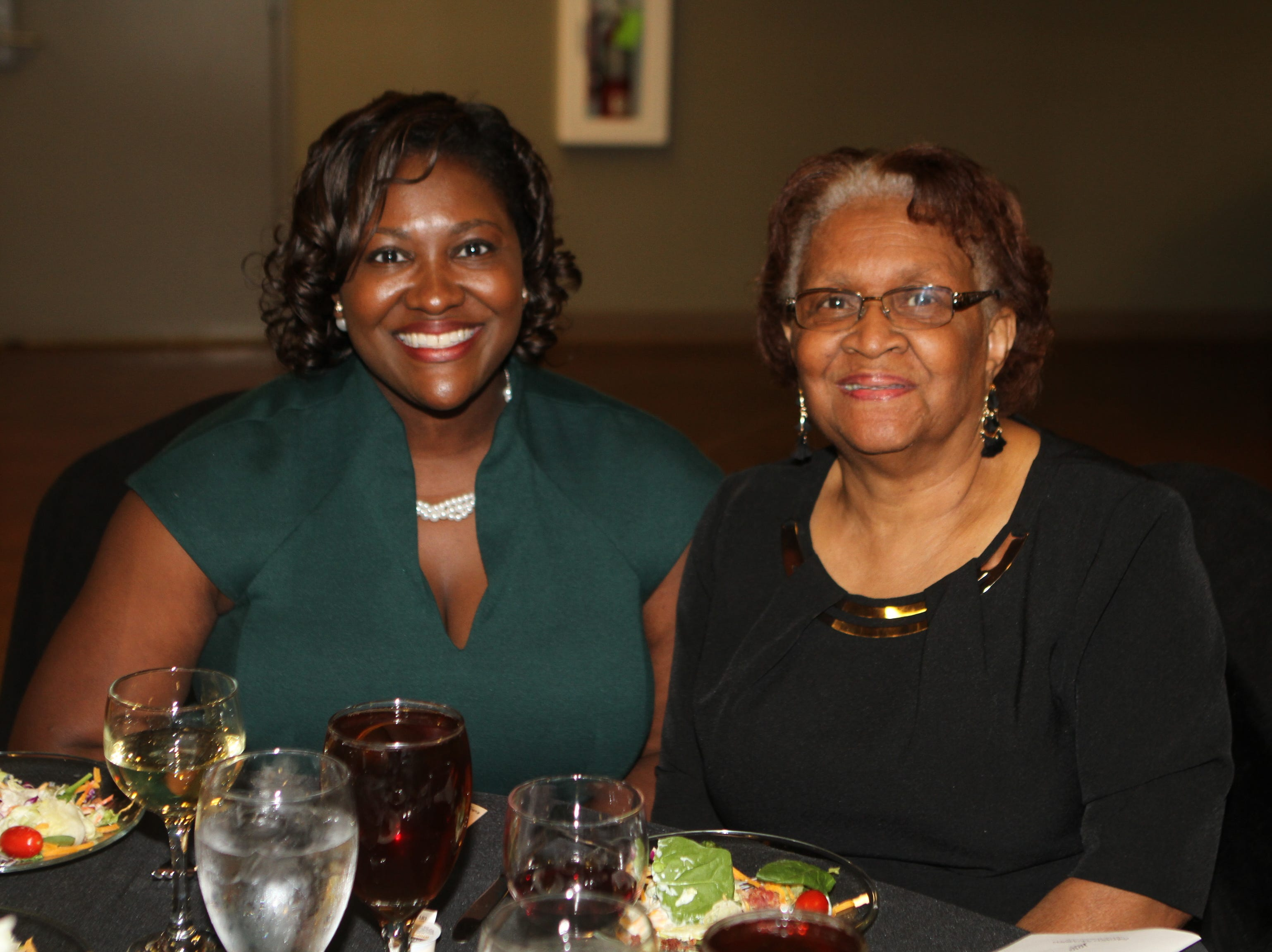 Gail Young and Bennie Russell at CMC Education Foundation's annual fundraiser Vision to Reality on Friday, November 2, 2018