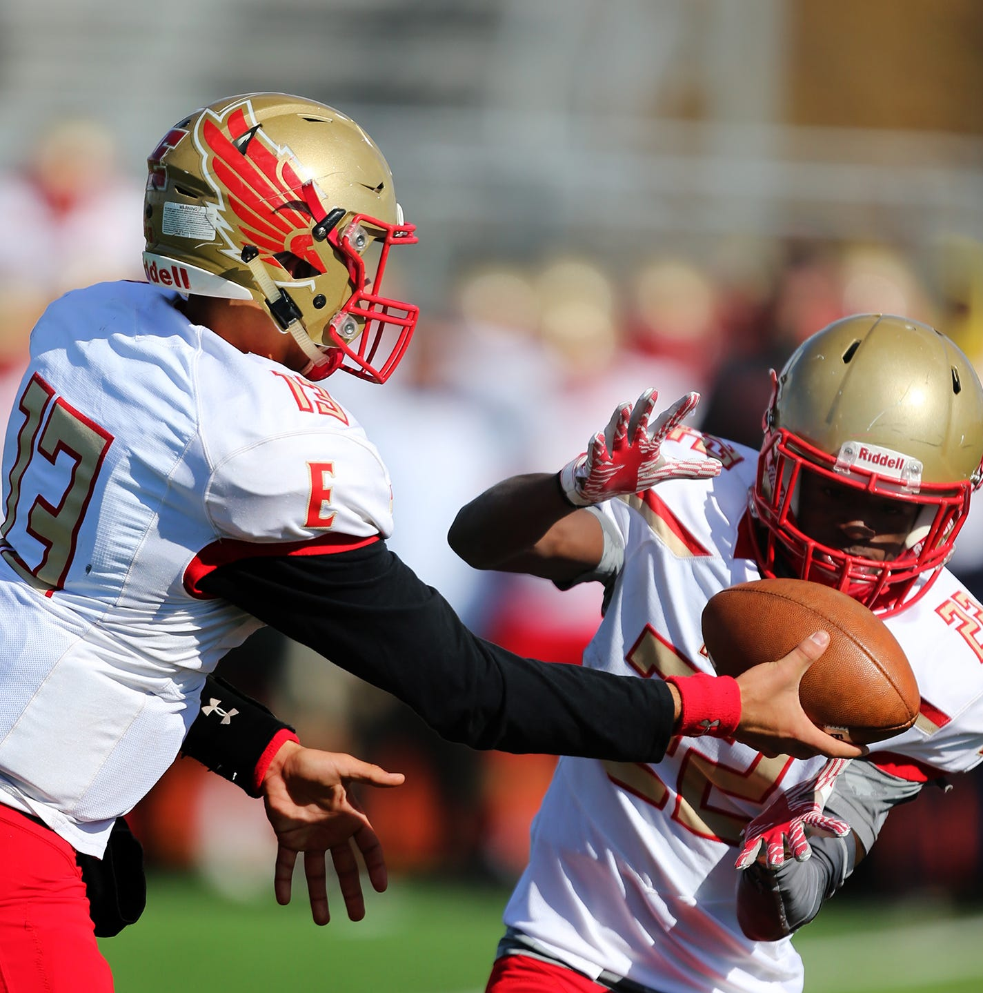 GMC football Top 10, division standings, playoff schedule,  crossover slate, results