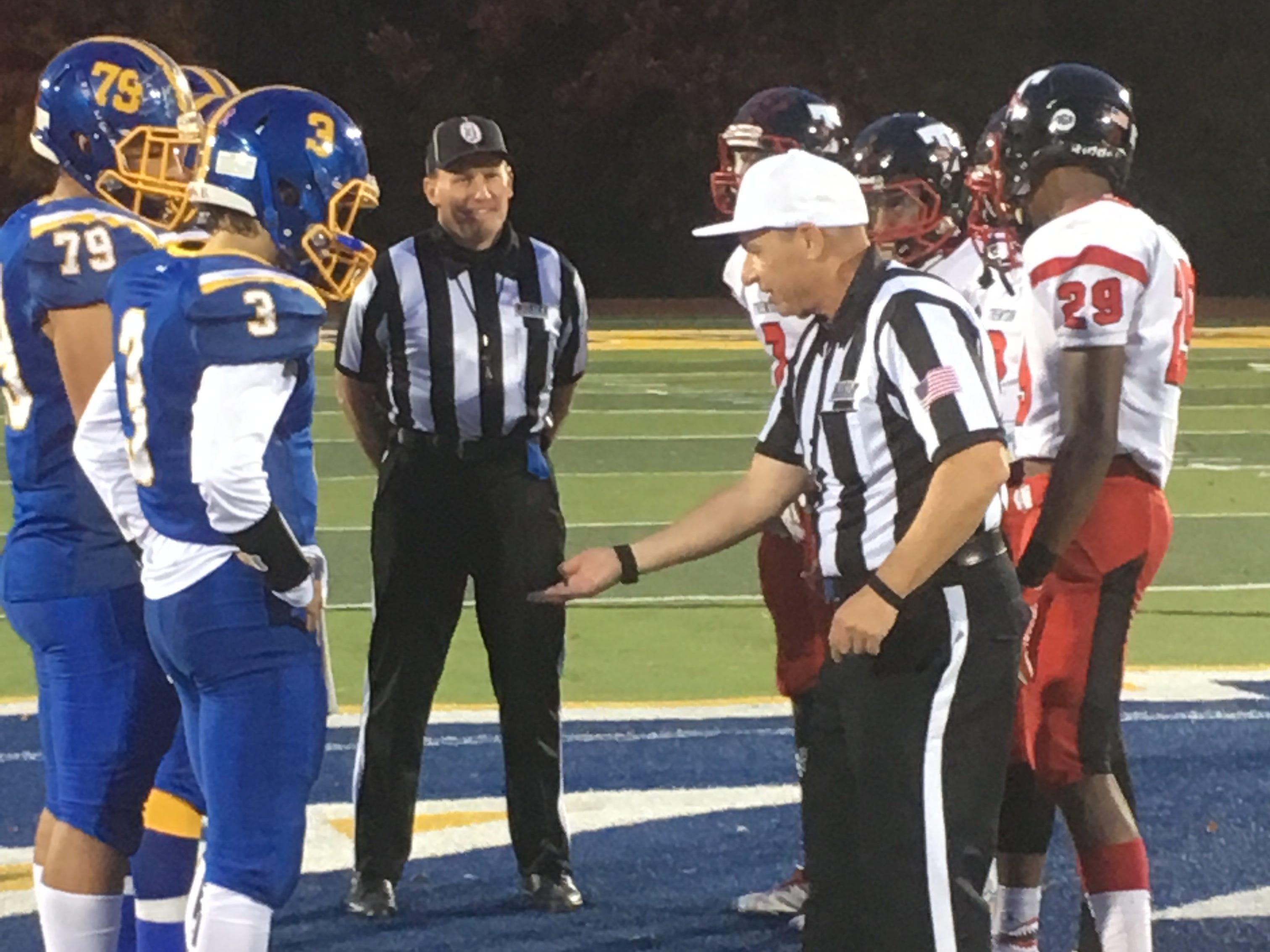 Trenton at North Brunswick football in Central Group V first round on Friday, Nov. 2, 2018.