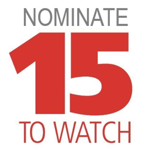 Nominate 15 To Watch