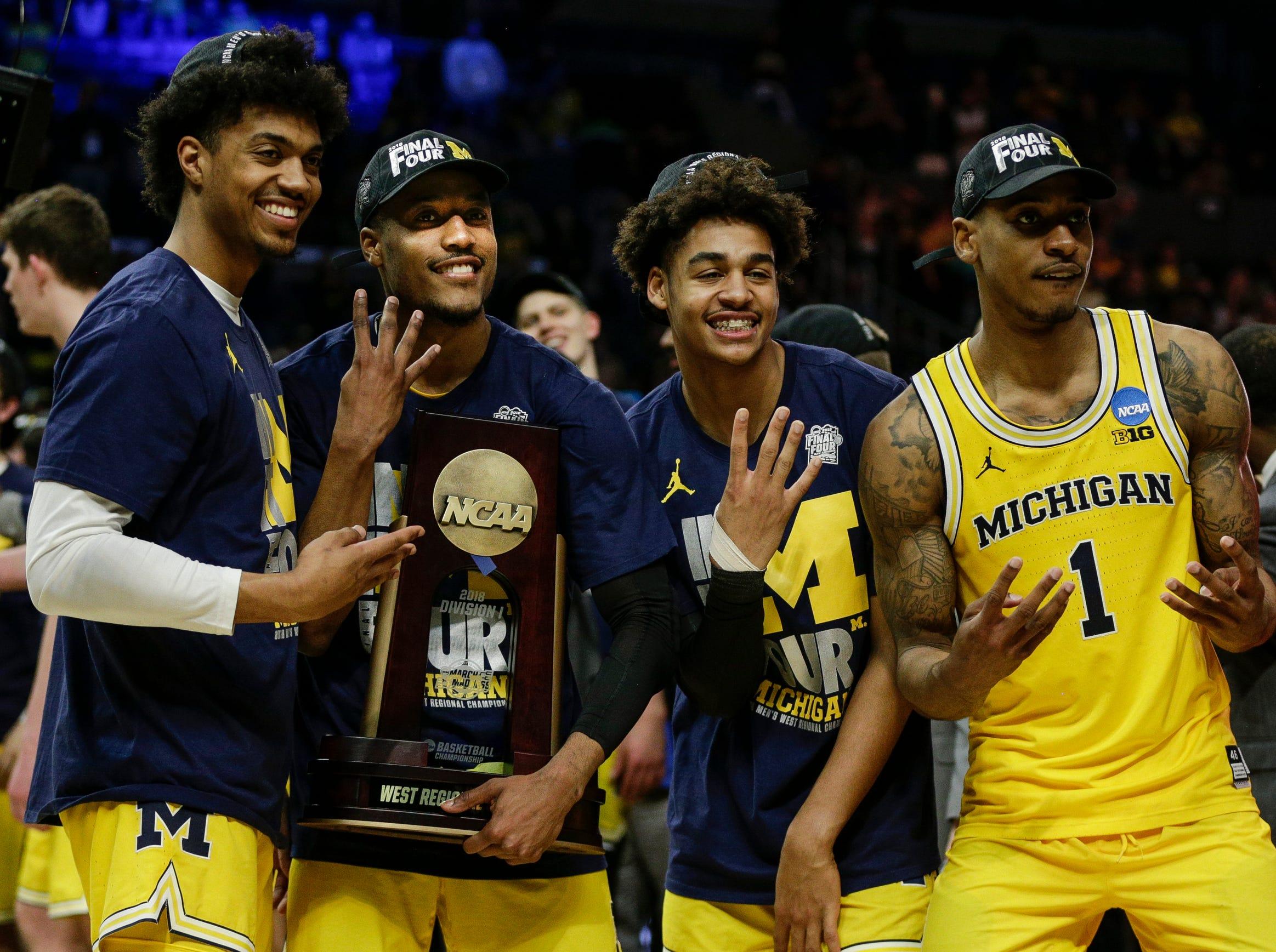2. Michigan | 2017-18 record: 33-8 | Big Ten record: 13-5
