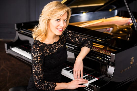 Olga Kern won the prestigious Van Cliburn piano competition in 2001.