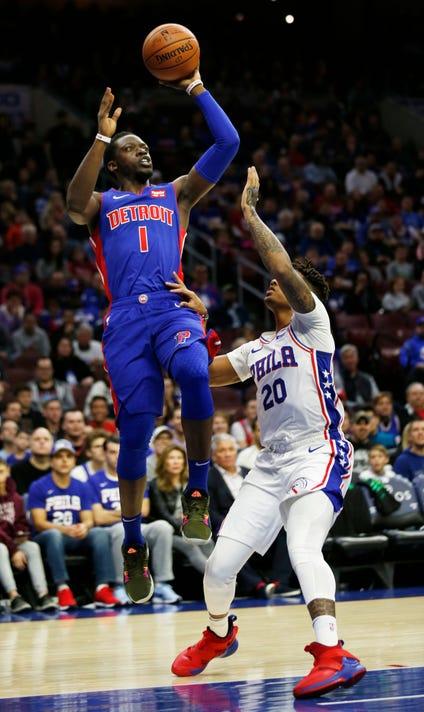 Ap Pistons 76ers Basketball 2