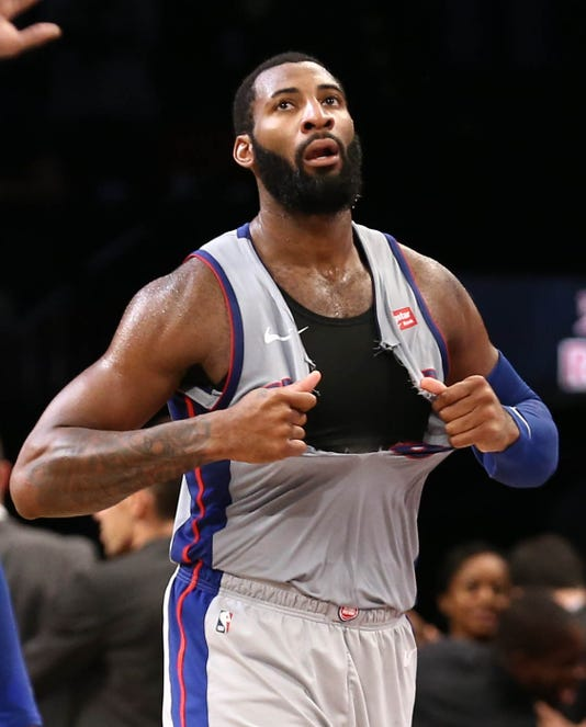 Sad Andre Drummond, Sad Detroit Pistons