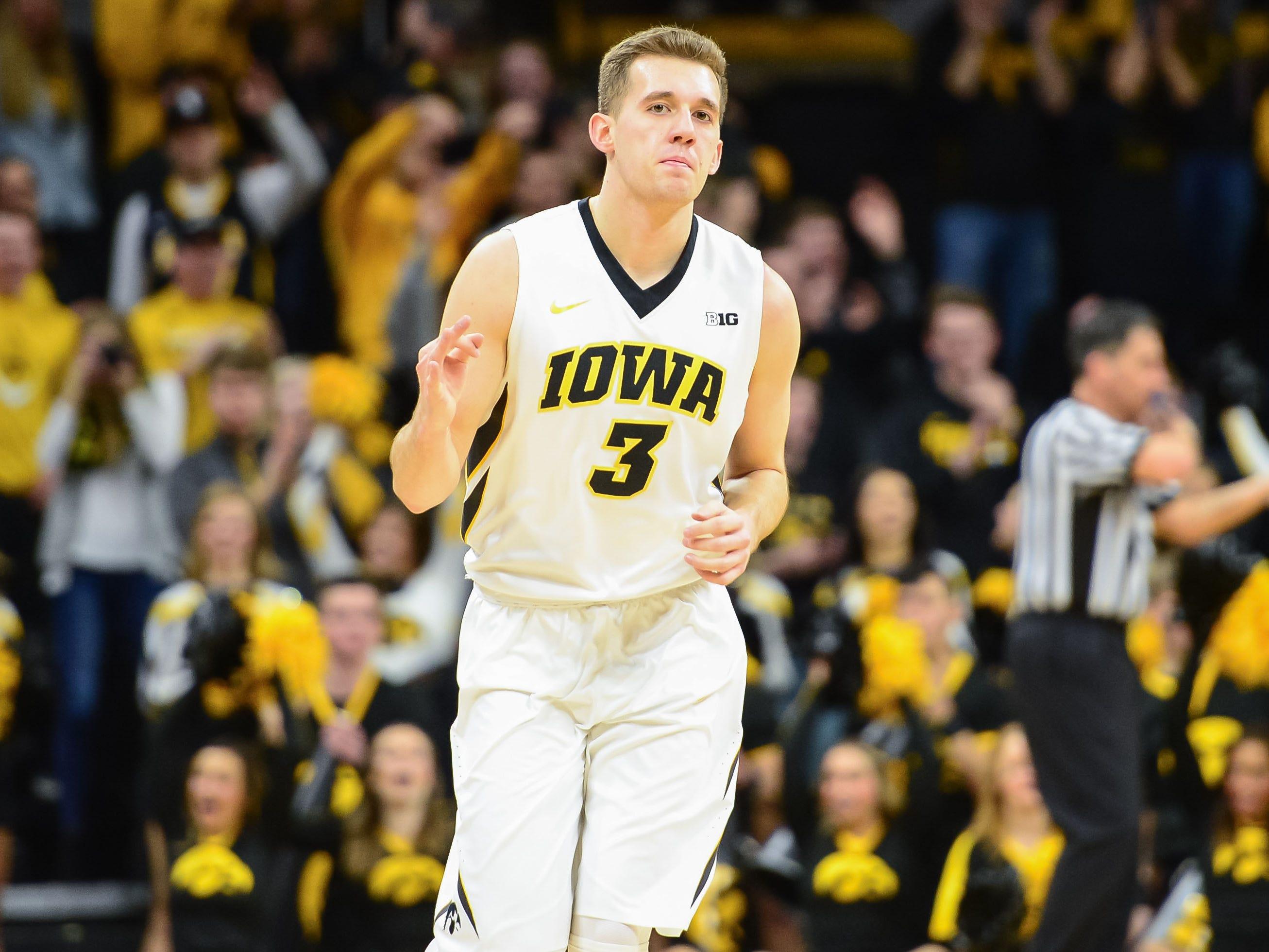 9. Iowa | 2017-18 record: 14-19 | Big Ten record: 4-14