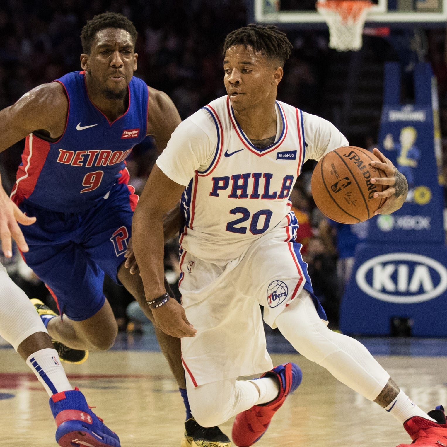 Detroit Pistons have interest in trading for 76ers' Markelle Fultz