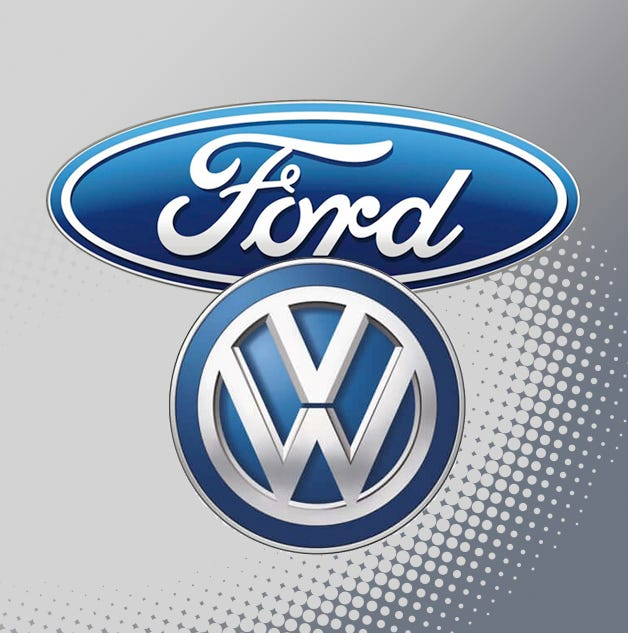 Ford Motor Co. and Volkswagen AG are discussinga global partnershipon self-driving vehicles.