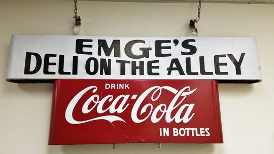 Emge's Deli used to be located a few blocks down Main Street before moving to the new location 24 years ago.