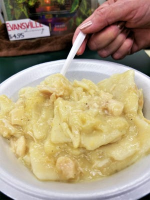 They call it a soup, but it's so much more. Chicken and dumplings are on the menu every day at Emge's Deli and Ice Cream in Evansville.