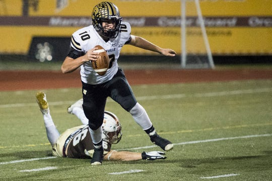 Boonville's Jackson Phillips leads the Pioneer offense, which could be the key to a third straight win over Big Eight rival Jasper.