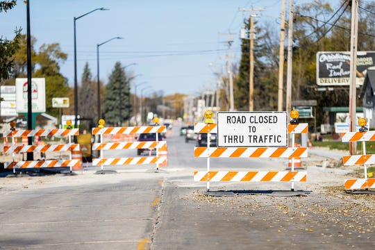 Fond du Lac Avenue is closed at National Avenue due to a major road construction project that rerouted traffic most of the summer. Doug Raflik/USA TODAY NETWORK-Wisconsin